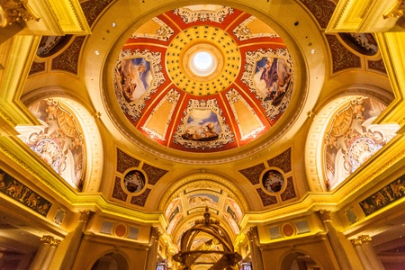 owned: Taipa, Macau - February 4, 2015:  The Venetian Macao is a luxury hotel and casino resort in Macau owned by the American Las Vegas Sands company.