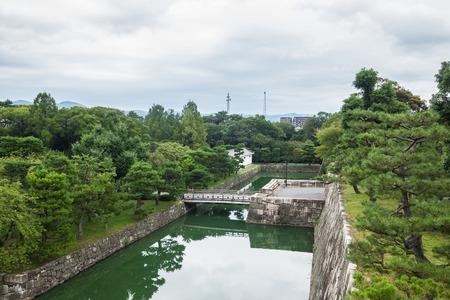 Summer Autumn Transit In Nijo Castle Kyoto And The Emperor Garden ...