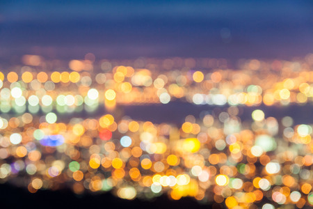 night vision: Out of focus bokeh view for background Stock Photo