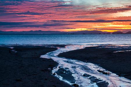 Sunrise or sunset beautiful background