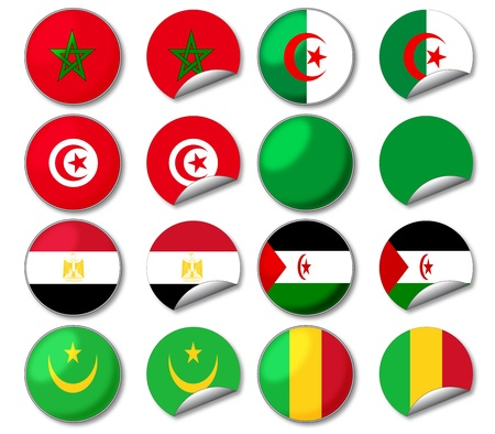 mali: National flags
