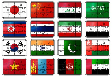 National flags photo