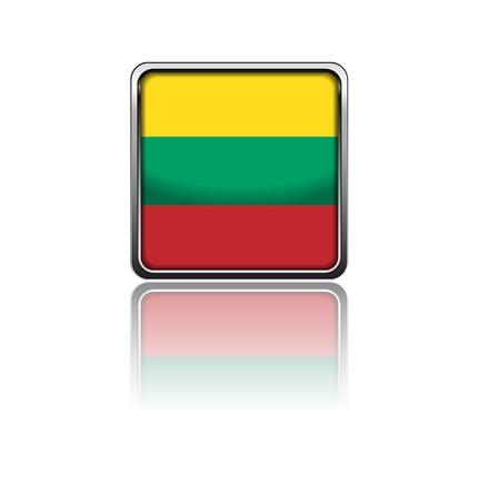 lithuania: National flag of Lithuania