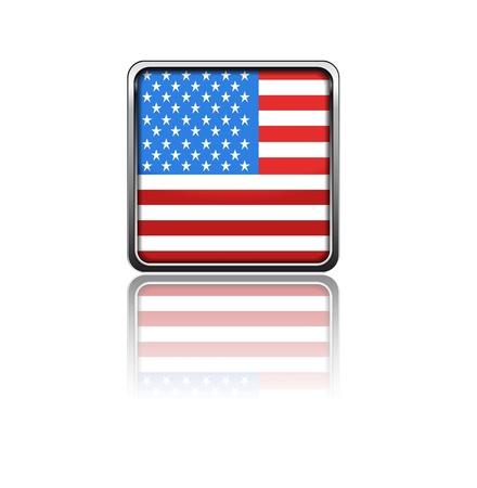 National flag of USA Stock Vector - 20050811