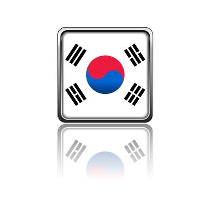 National flag of South Korea Stock Vector - 20050701