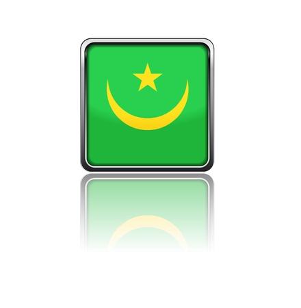 mauritania: National flag of Mauritania