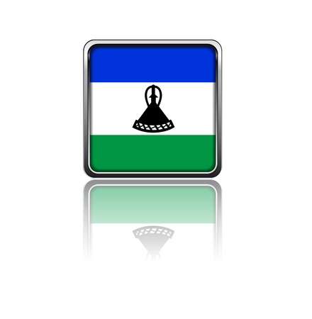 National flag of Lesotho Stock Vector - 20050697