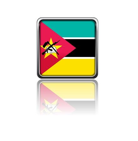 Mozambique: National flag of Mozambique