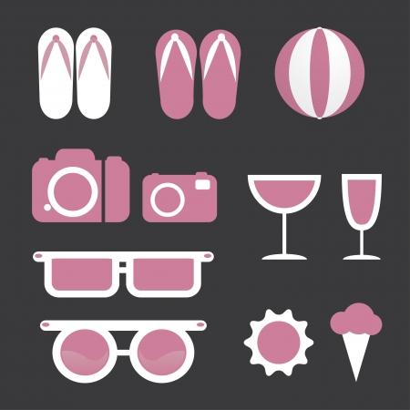 element beach icons