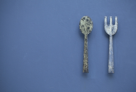 Fork and spoon Stock Photo - 18836514