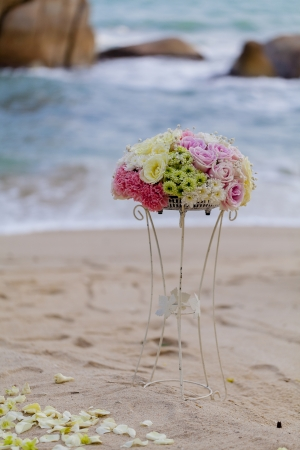 Wedding on the beach . photo