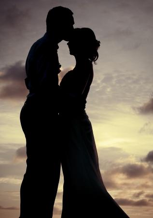 Silhouette Paar