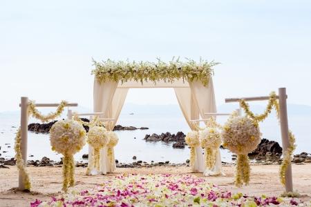 beach wedding: Wedding on the beach