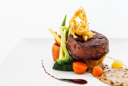 Australian premium fillet tenderloin steak  版權商用圖片