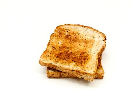 Toasted bread for breakfast  Фото со стока