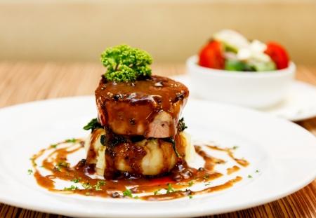 Australian premium fillet tenderloin steak.