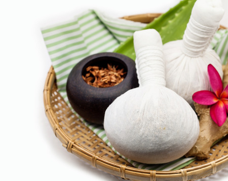 The Herbal compress ball for spa