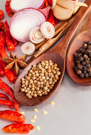 tast: Thai food Cooking ingredients. - spice tast