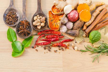 tast: Food Cooking ingredients. - spice tast