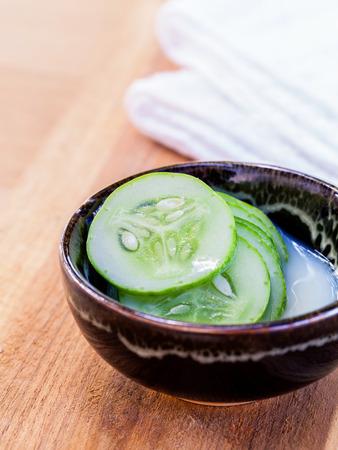 toner: Natural Spa Ingredients . - Cucumber homemade natural facial toner.