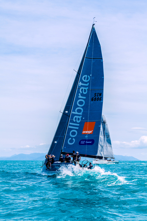SAMUI REGATTA 2015, THAILAND - MAY 25 : Event at Chaweng beach ,Koh Samui island ,Thailand May 25, 2015
