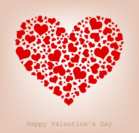 hearts, Happy Valentine Vector