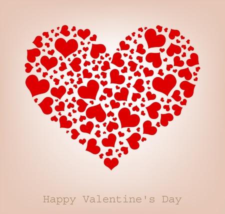 kształt: serca, Happy Valentine