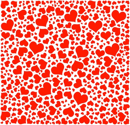 vector, hearts pattern, Valentine