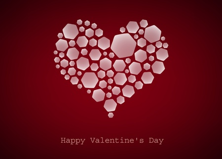 Happy Valentine's Day, heart, vector photo