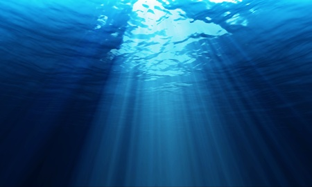licht onder water