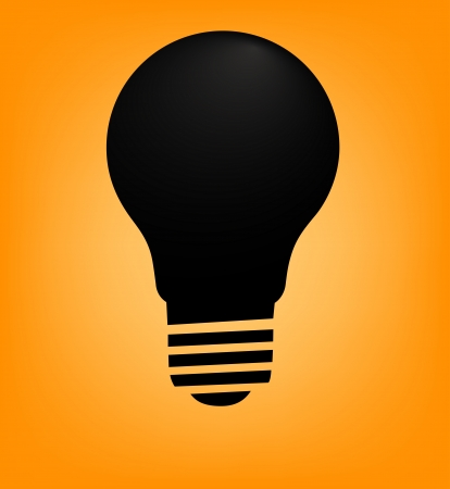 Light bulb illustration Stock Vector - 13928962