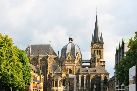 Aachener Dom Stock Photo