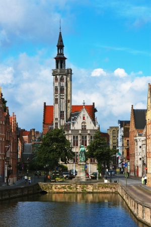 serenety: Brugge, medieval city in Belgium