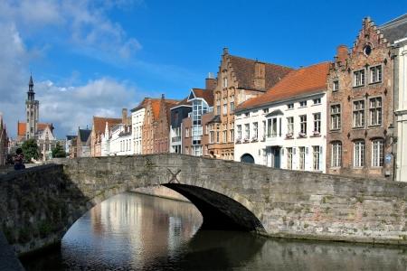 ブルージュ、ベルギーの中世の街