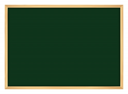 blackboard with frame Vector
