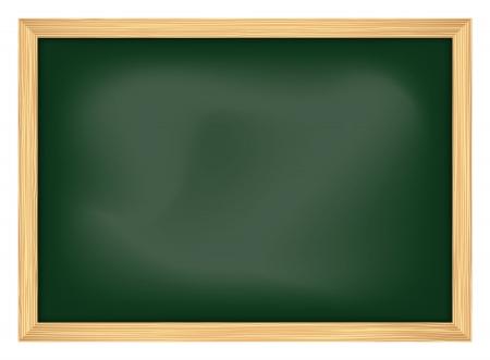 フレームを使用して空の学校の黒板  イラスト・ベクター素材