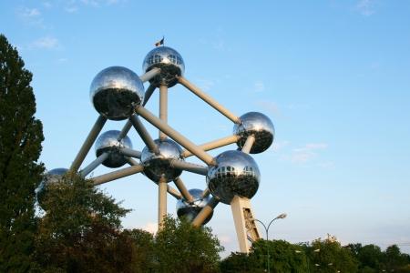 ブリュッセルでアトミウム記念碑