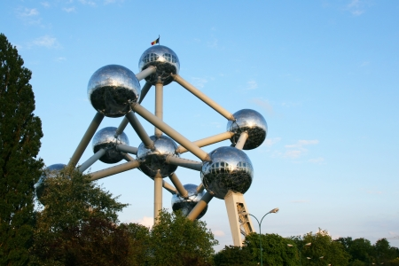 Atomium monument in Brussels