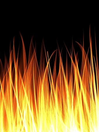 flame abstract background photo