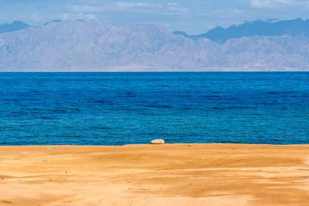 dahab: Dahab, Sinai Peninsula, Egypt, Coast of Gulf of Aqaba Stock Photo