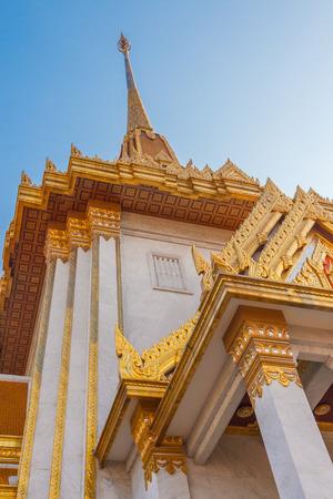 wat traimit: Temple of the Golden Buddha (Wat Traimit) in Bangkok, Thailand Stock Photo