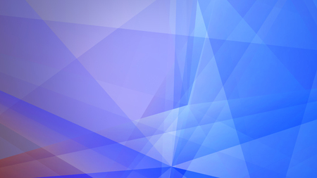 slow motion: Abstract geometric composition with the colourful triangles