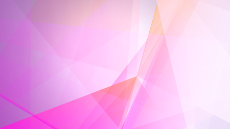 Abstract geometric composition with the colourful triangles
