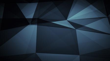 抽象化ドット ラインと三角形、幾何学構成設計の抽象的な未来的な背景 写真素材