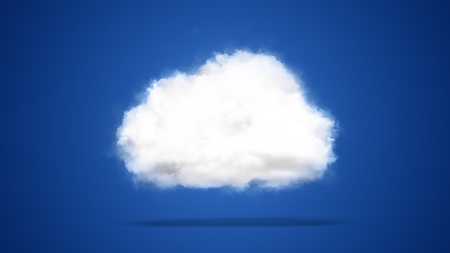 Cloud computing  cloud technology  Internet of things, concept background from heavenly clouds, symbol of IT industry Stock Photo