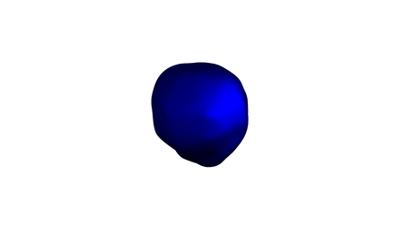 specular: wavy and colorful surface, metamorphose of amorphous sphere, abstract shape