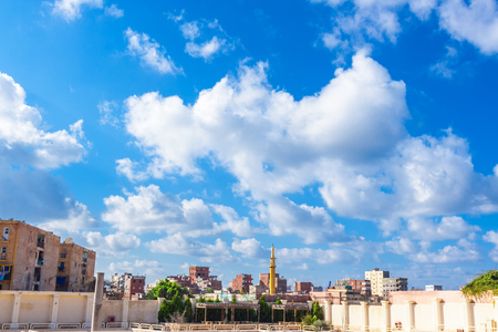 cityscape of Alexandria in Egypt, north africa Stock Photo