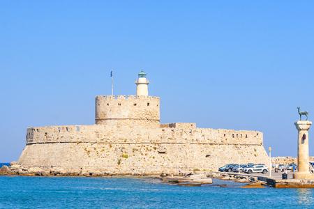 Fort of St. Nicholas, Rhodes, Greece