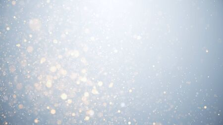 holiday background glowing particles, stars and sparkling flow, abstract background with sparkle glitter