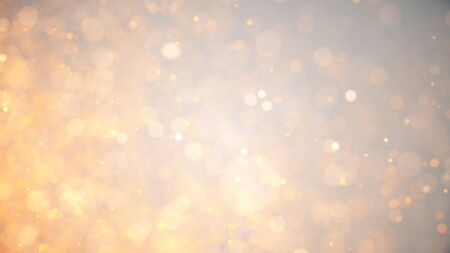 golden dust, light golden holiday background with glowing particles, abstract illustration with sparkle glitter